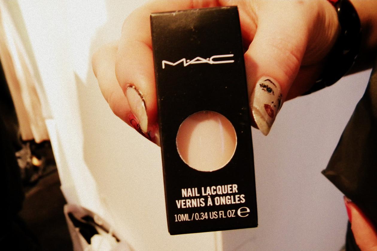 nail polish delicate