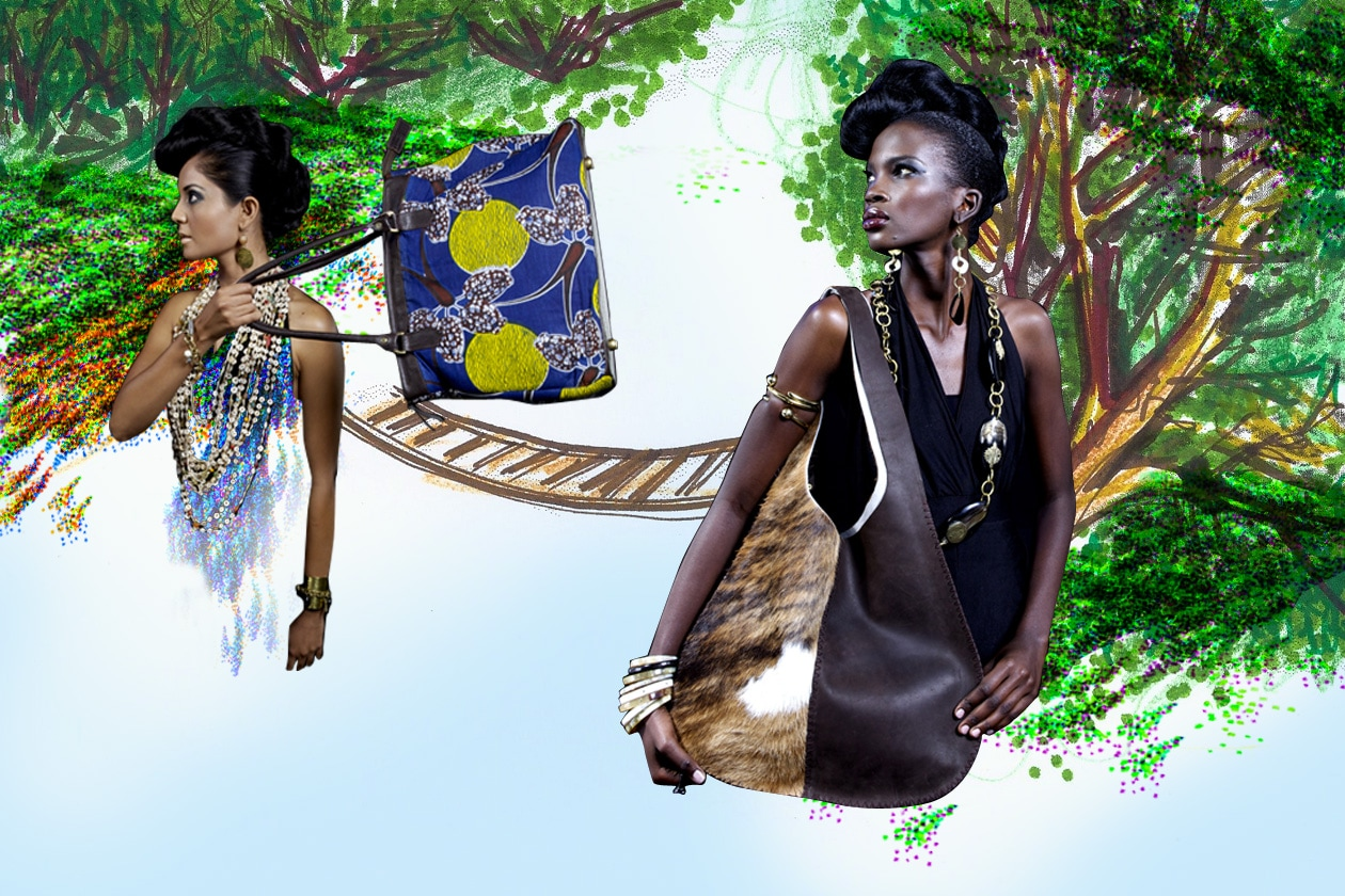 Borse e accessori etnici di Adèle Dejak