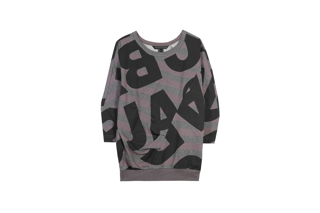 Felpa stampa lettere Marc by Marc Jacobs