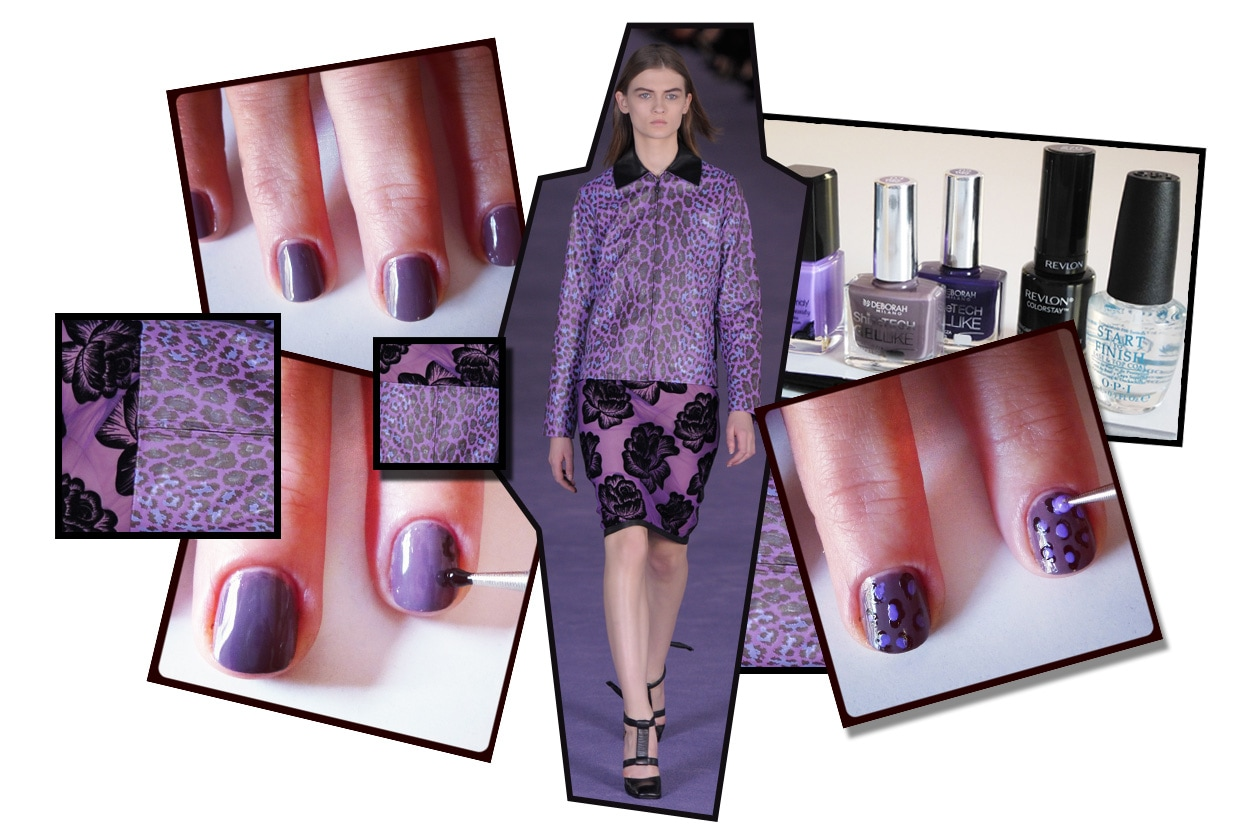 00 Beauty manicure tutorial maculato Collage