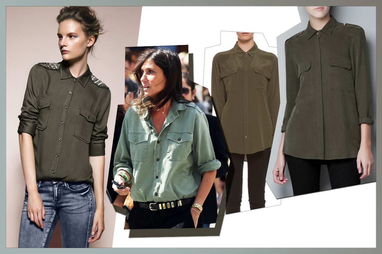 004 Camicie Military Collage