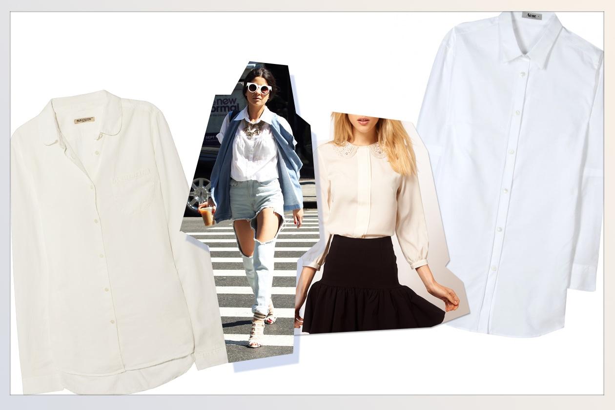 006 Camicie White Collage