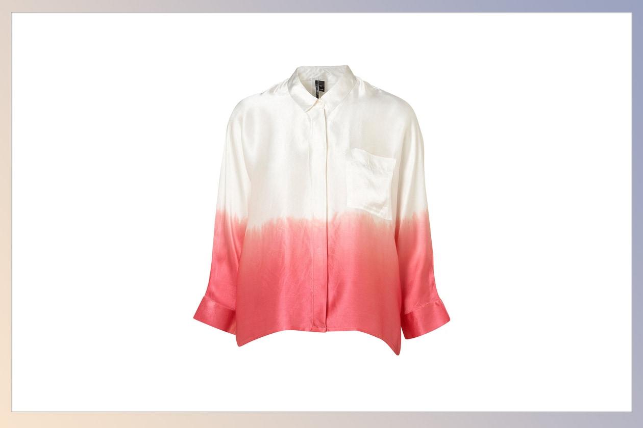 01 Camicie Botton up Topshop silk