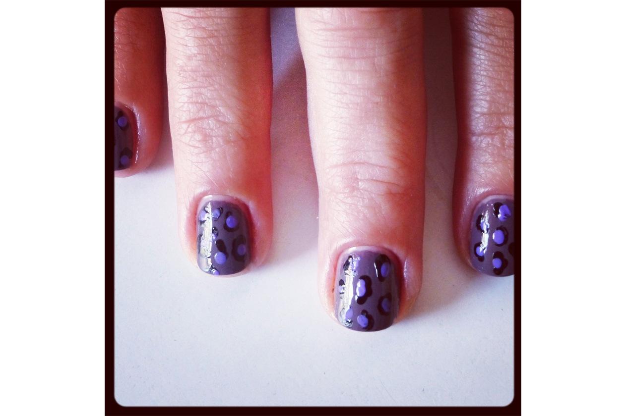 010 Beauty manicure tutorial maculato