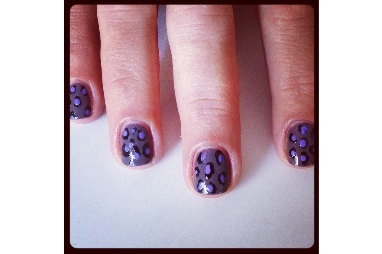 011 Beauty manicure tutorial maculato