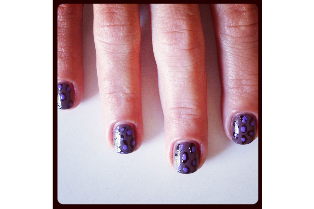 012 Beauty manicure tutorial maculato