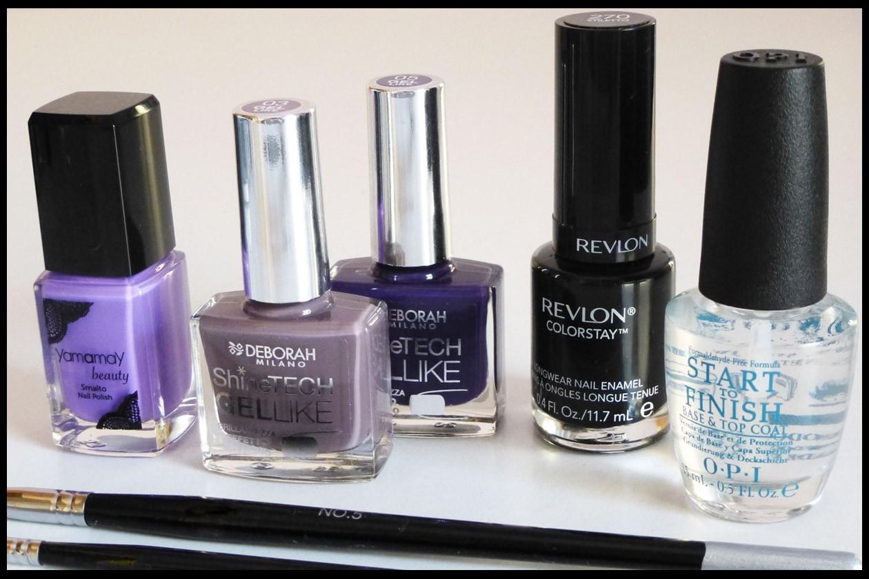 02 Beauty manicure tutorial maculato Prodotti