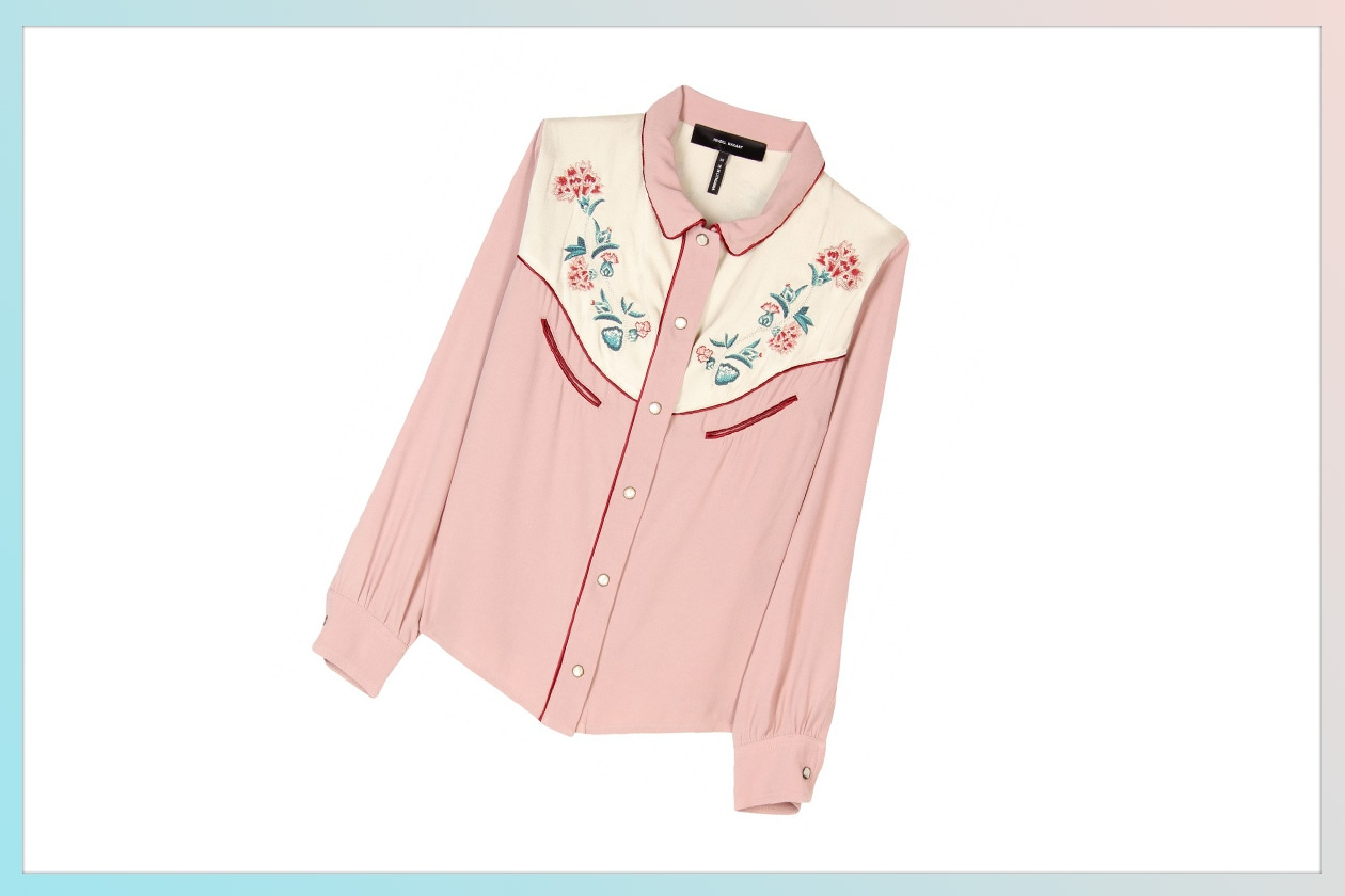 02 Camicie country flowers Isabel Marant