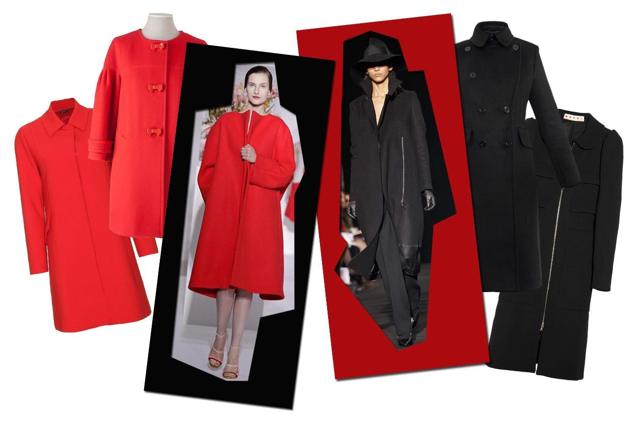 02 Rosso Nero Cappotti Collage