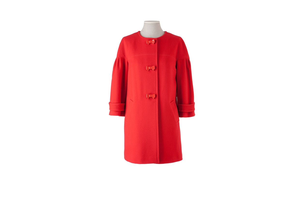 02 Rosso Nero cappotto Lazzari rosso
