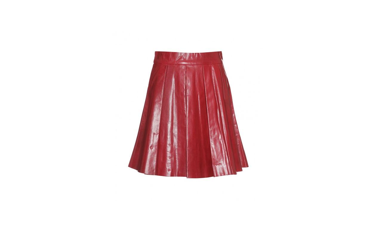 03 Rosso Nero Pelle Alice Olivia rossa