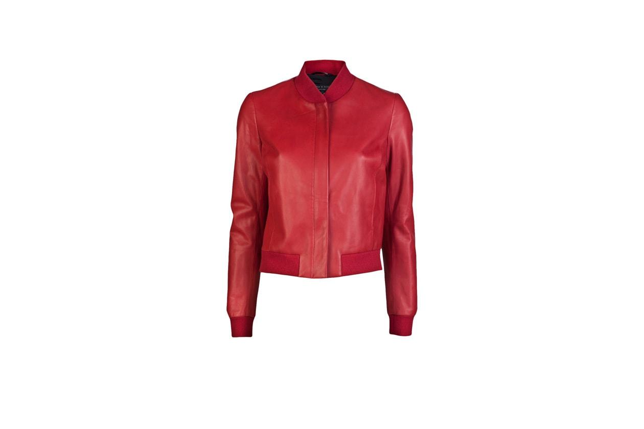03 Rosso Nero Pelle Rag&Bone rossa