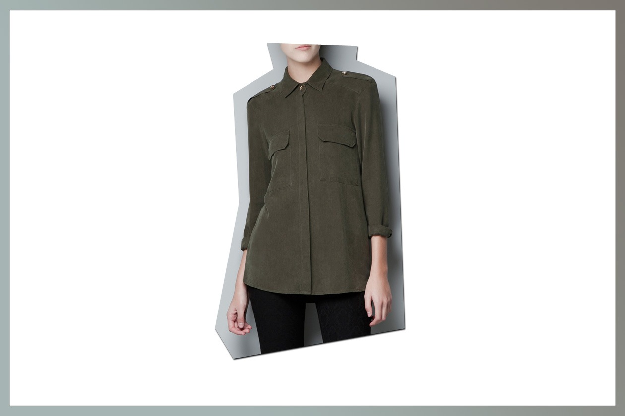 04 Camicie military Zara