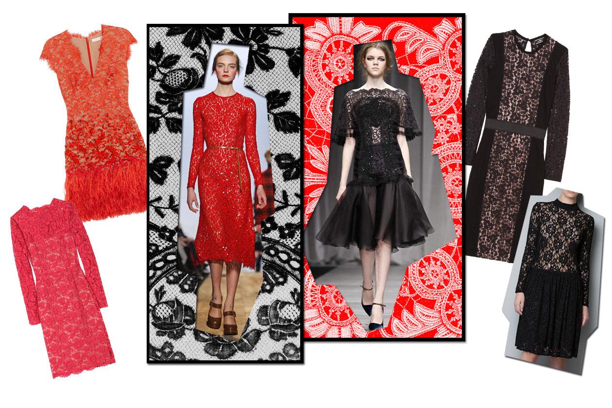 04 Rosso Nero Pizzo Collage