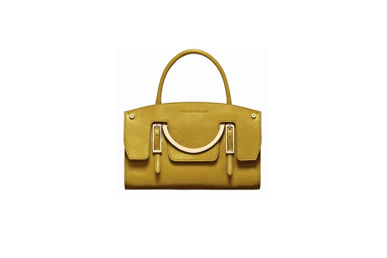 04 coccinelle borsa gialla