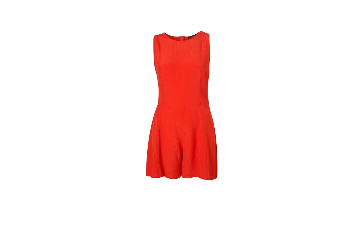 05 Rosso Nero Tuta mini Topshop rossa