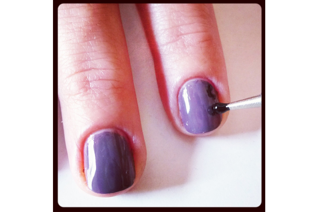 06 Beauty manicure tutorial maculato