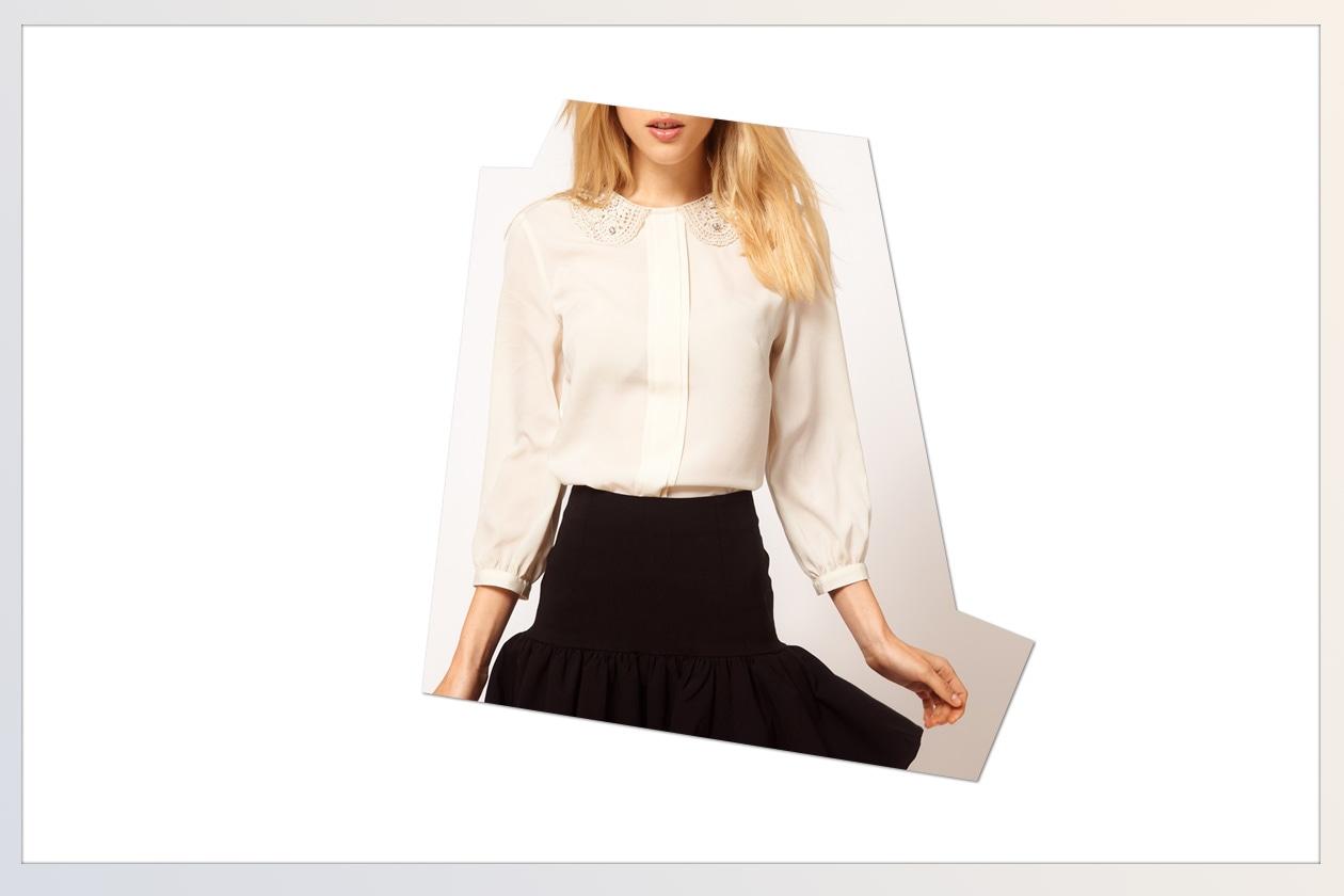 06 Camicie White Asos bianca