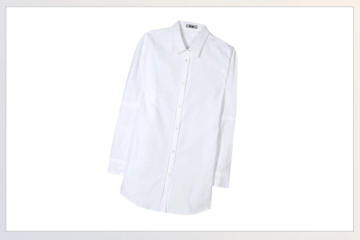 06 Camicie White shirt Acne