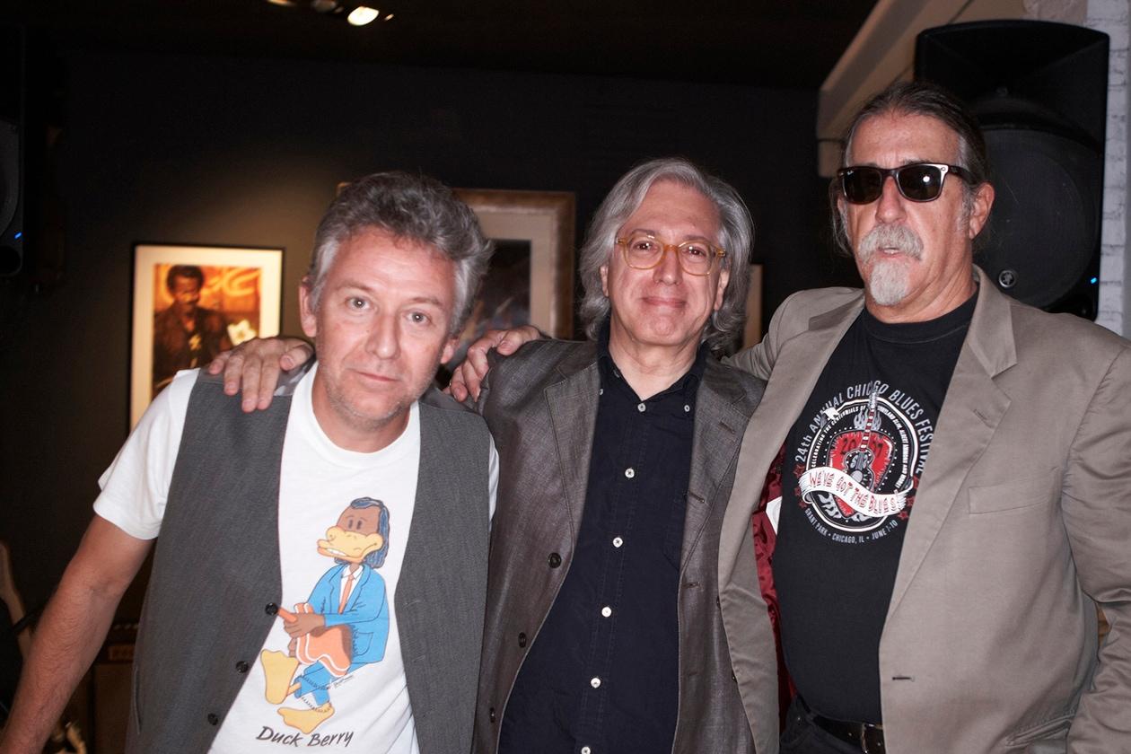 9 Paolo Bonfanti Guido Harari e Fabio Treves photo credits Dario De Boni