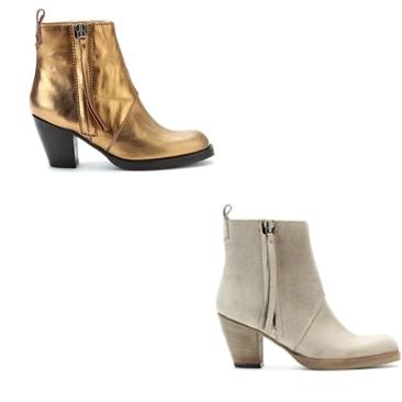 Acne e mytheresa.com: i Pistol Boots esclusivi