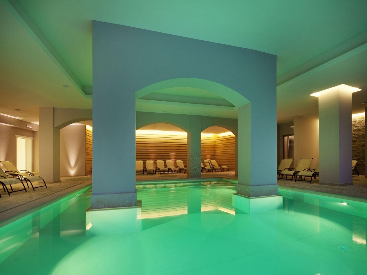 Acquae Term, a Borgo Brufa, è uno spazio dedicato al rilassamento psico-fisico