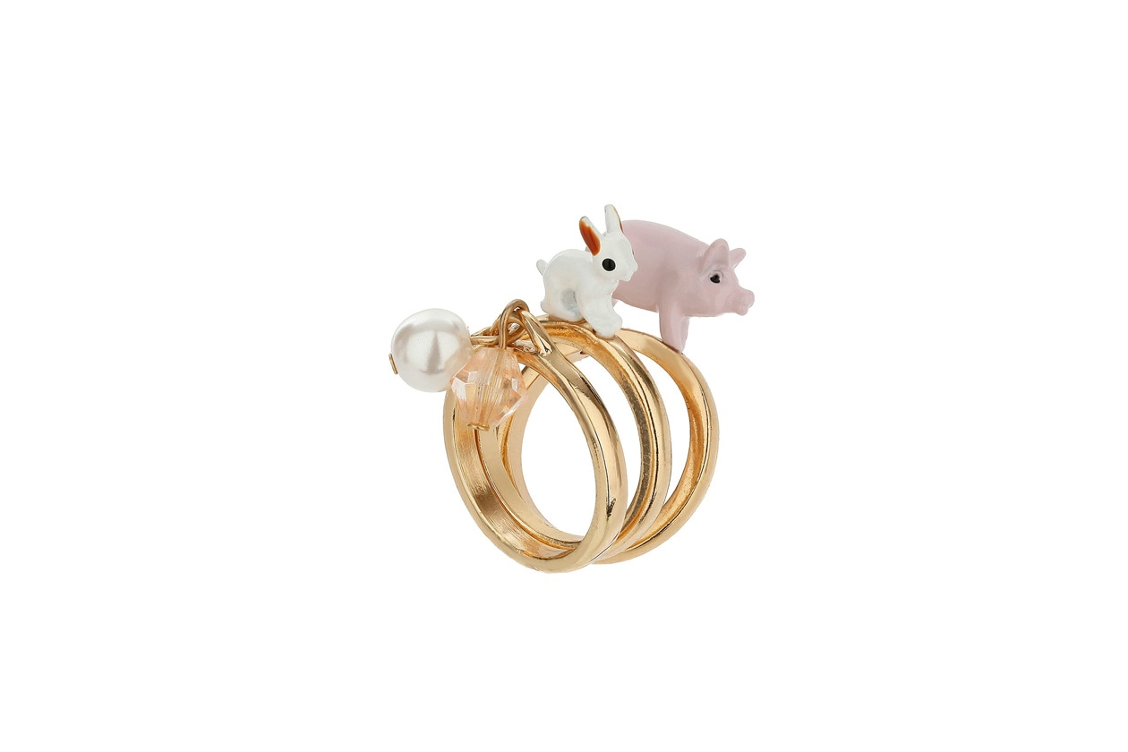 Animal ring by Topshop