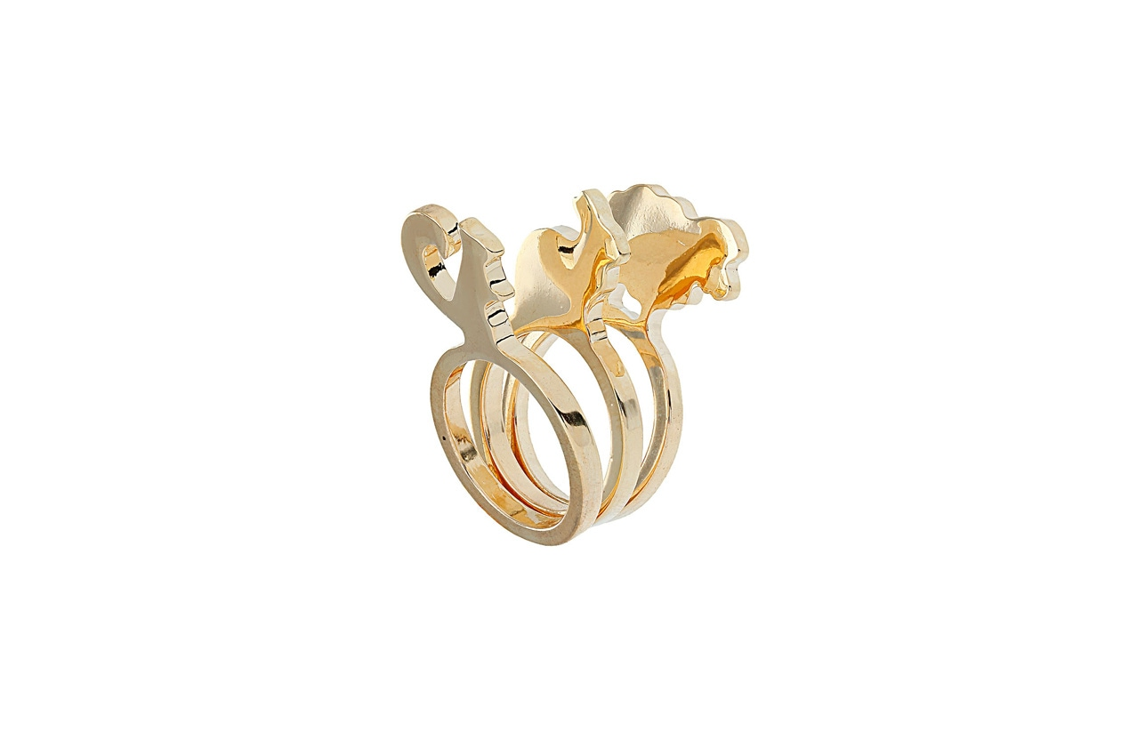 Animal stack ring by Topshop