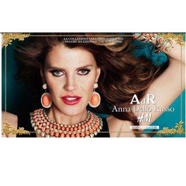 Anna Dello Russo per H&M da domani negli store