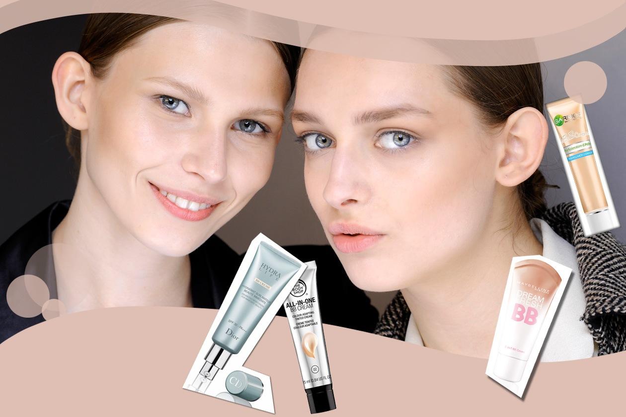 Beauty BB Cream Collage