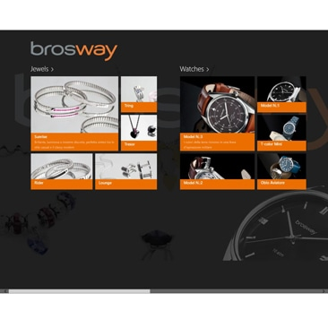 Brosway: la nuova App per Windows 8