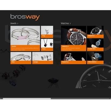 Brosway: la nuova App per Windows 8