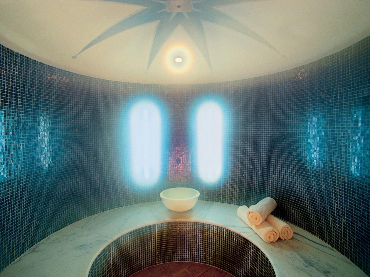 Da non perdere la sauna finnica nella spa del Belvita Hotel Adria