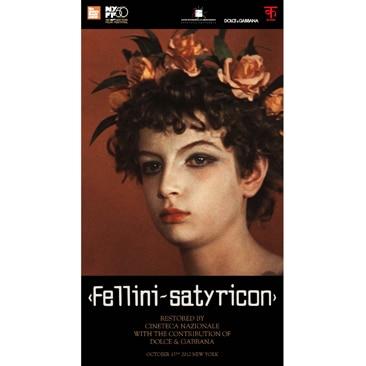 Dolce&Gabbana resturano i capolavori di Fellini