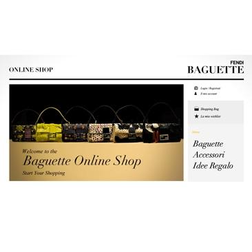 Fendi presenta il mini sito dedicato alla Baguette