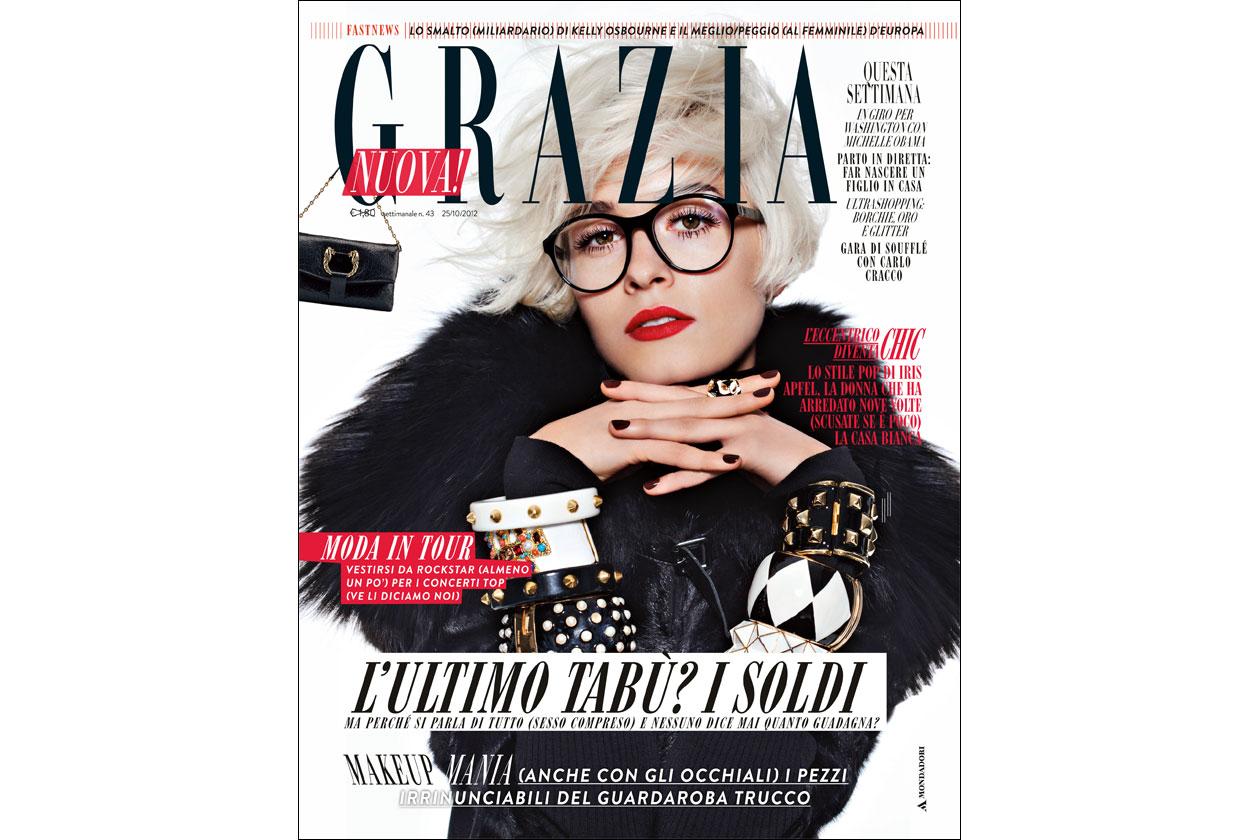 Grazia copertina 43 2012