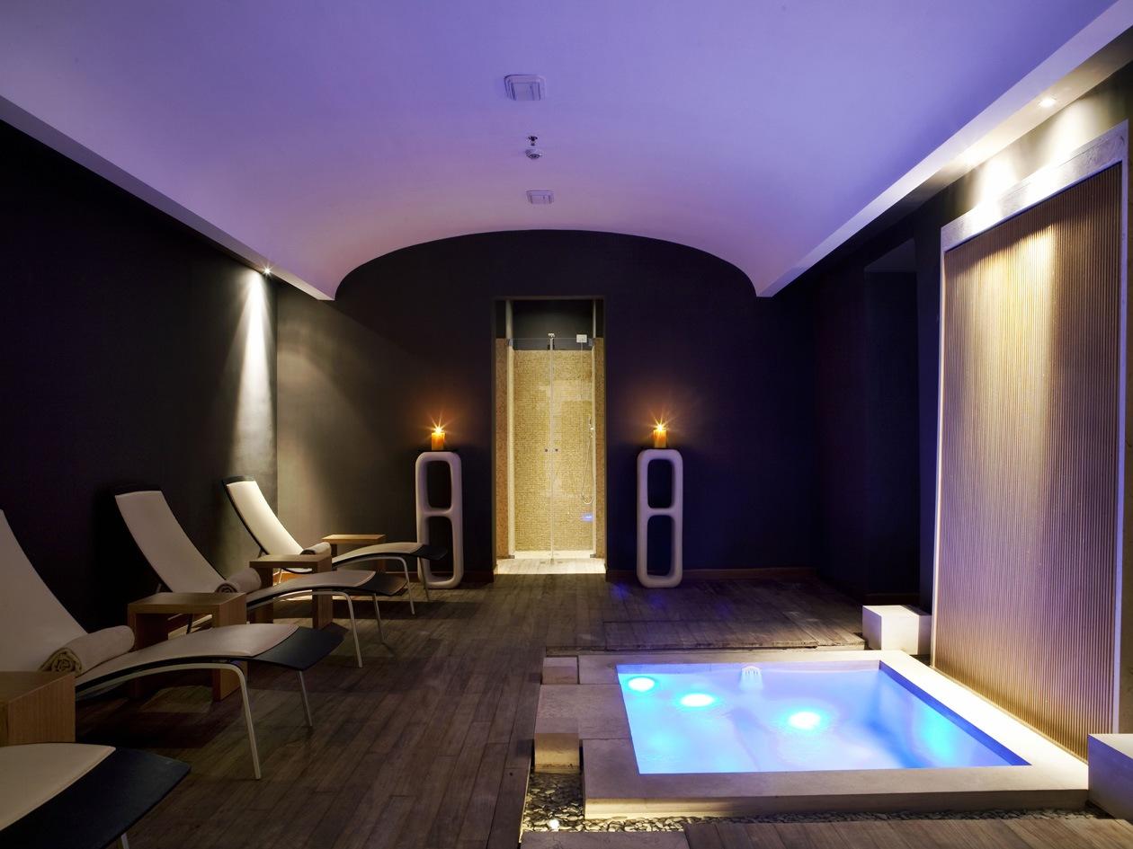 Il Capri Tiberio Palace ha una spa elegantissima