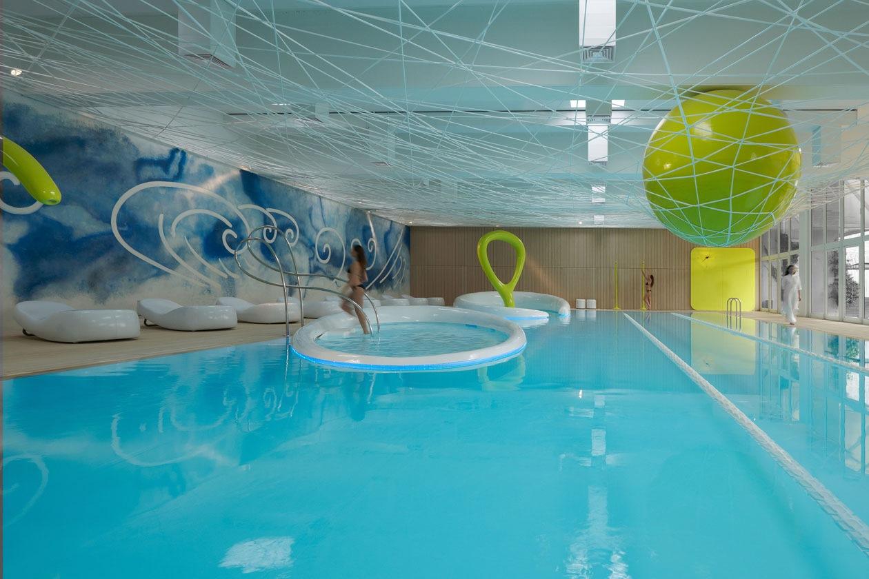 La piscina del Parco Hotel ai Cappuccini