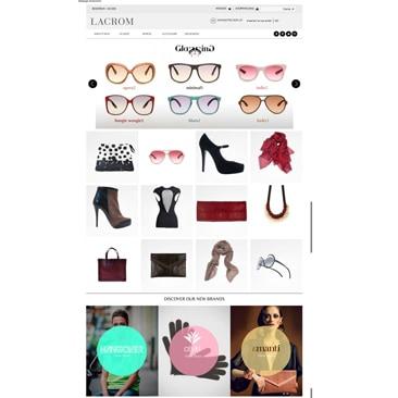 Lacrom: il nuovo department store è online