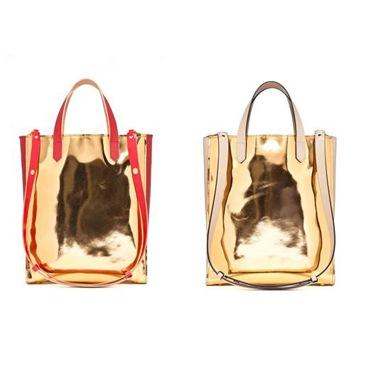 Marni: la Tote Bag si veste d'oro