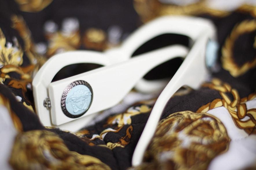 Occhiali da sole Versace Vintage