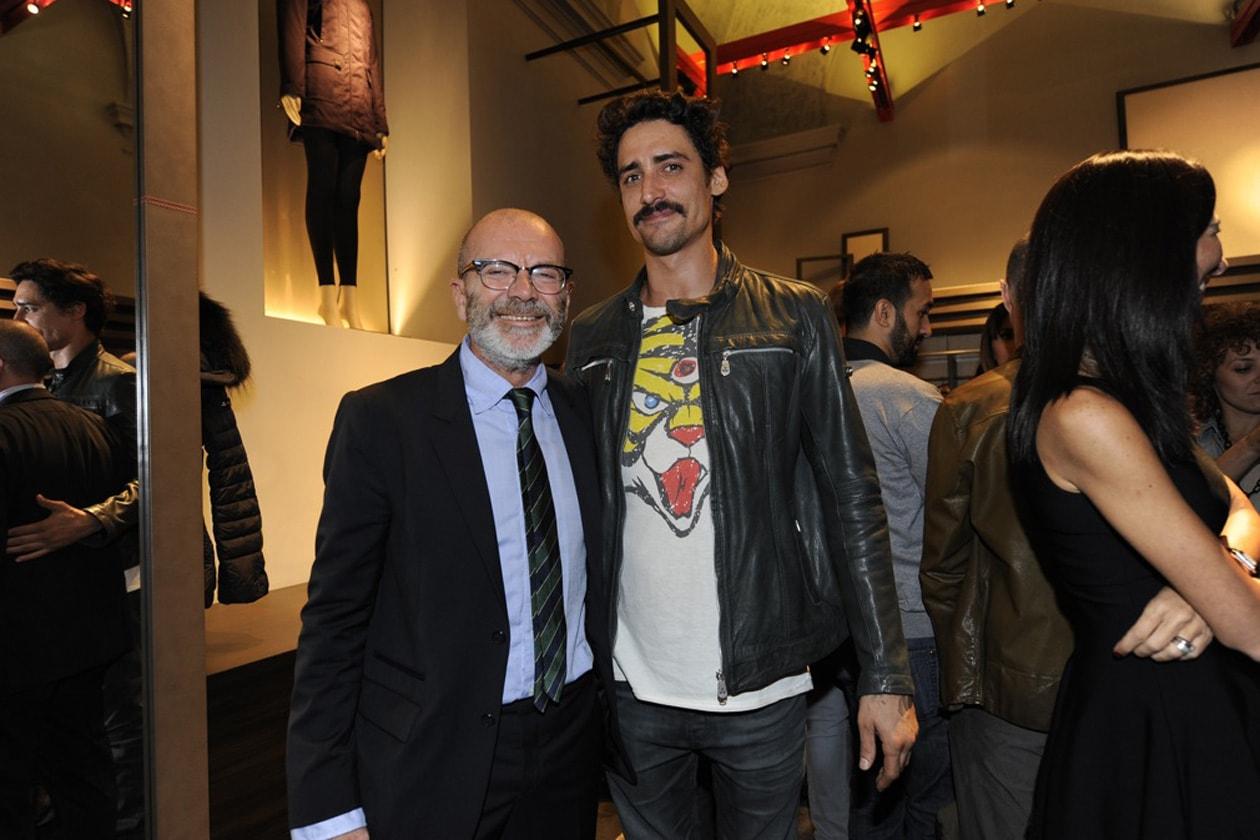 RiccardoCoppola(direttoreCreativoPeuterey) e Marco Cocci