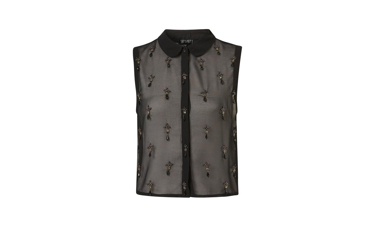 TopList Gotica topshop camicia