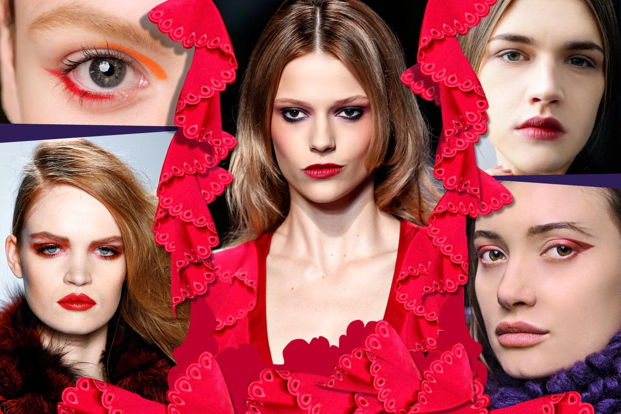 Trucco Rosso Collage