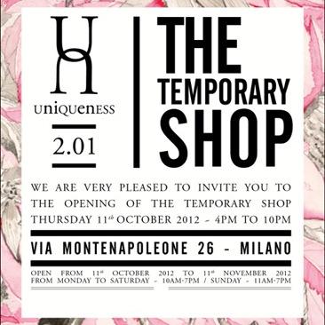 Uniqueness inaugura il primo pop up store