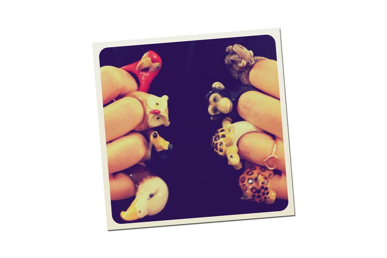 animale per dito