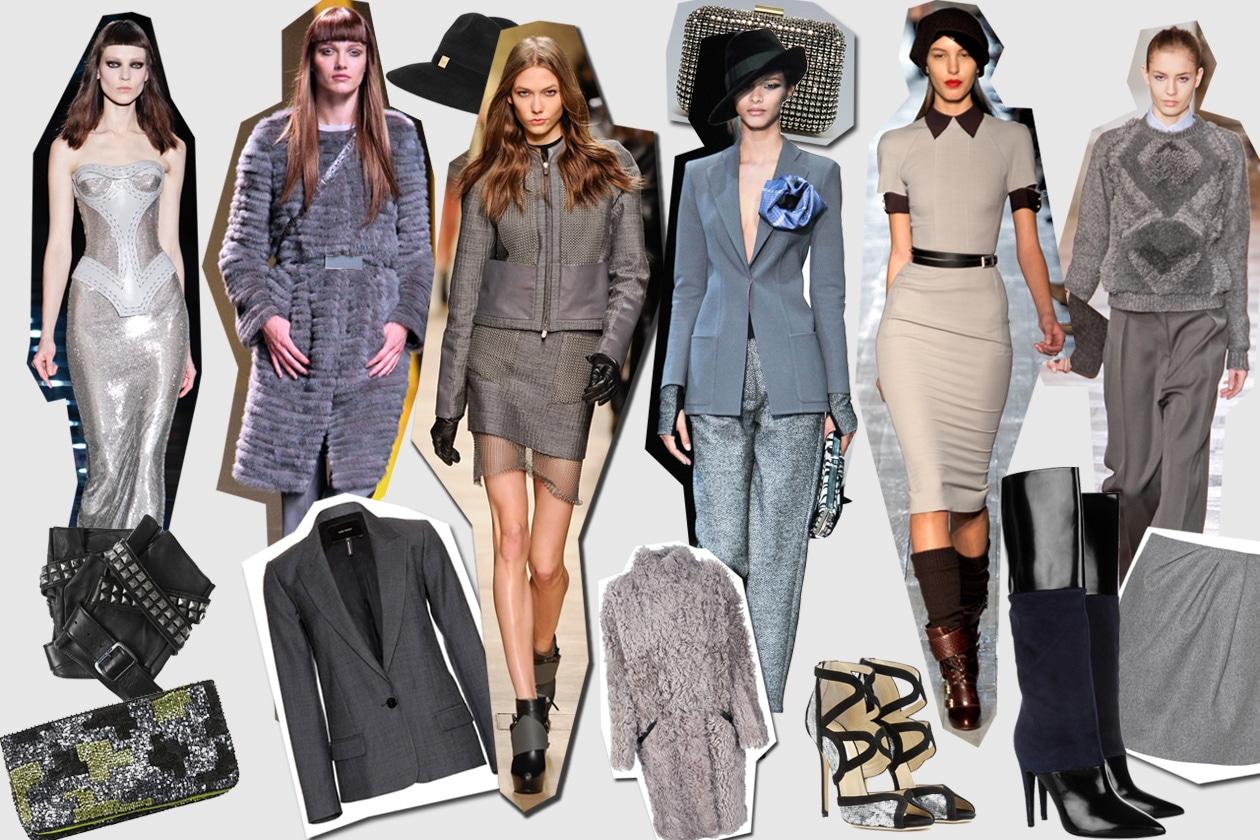 50 sfumature di grigio: le ispirazioni moda da non perdere