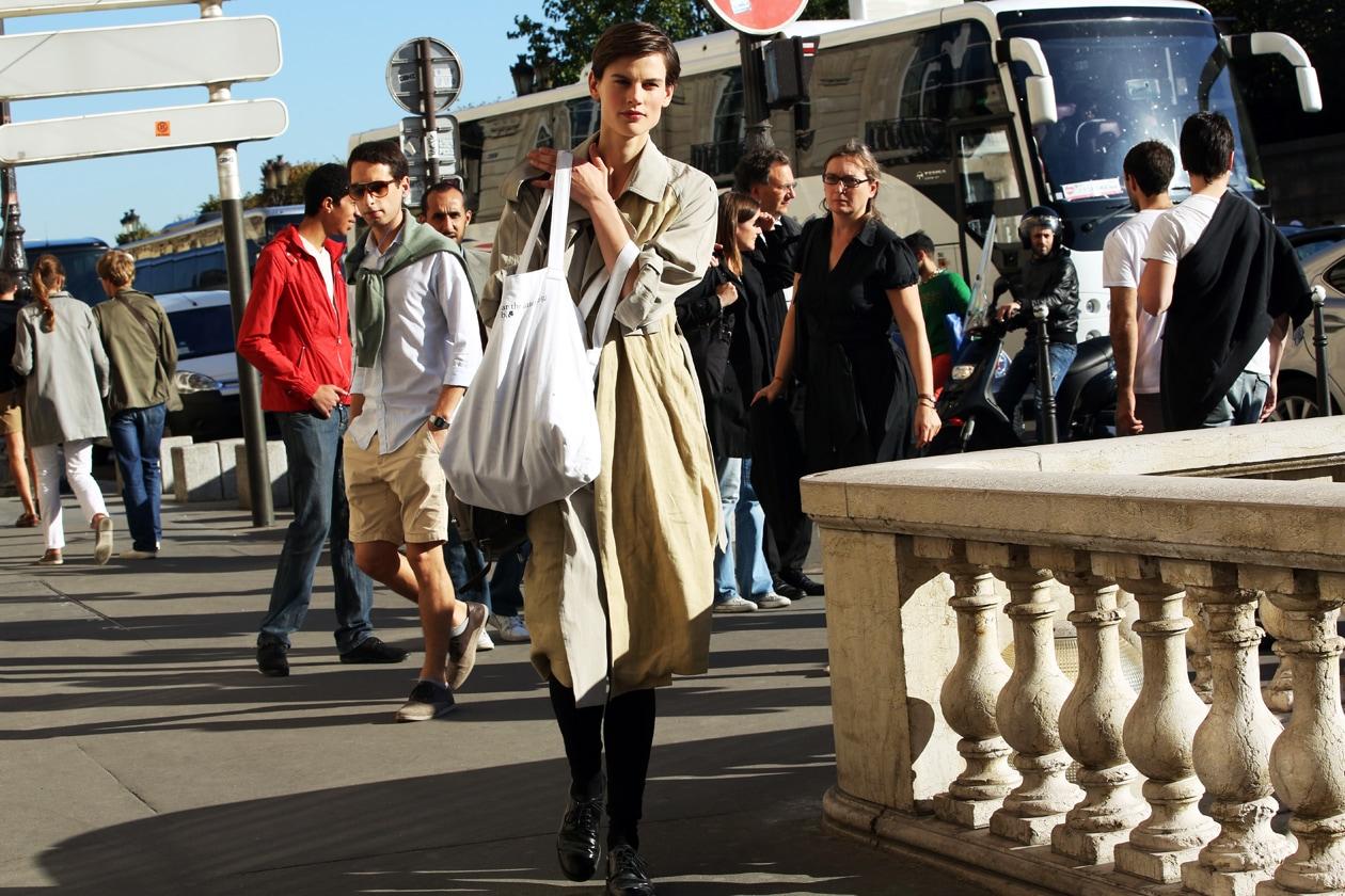 Paris Fashion Week Street Style: 30 Settembre 2012