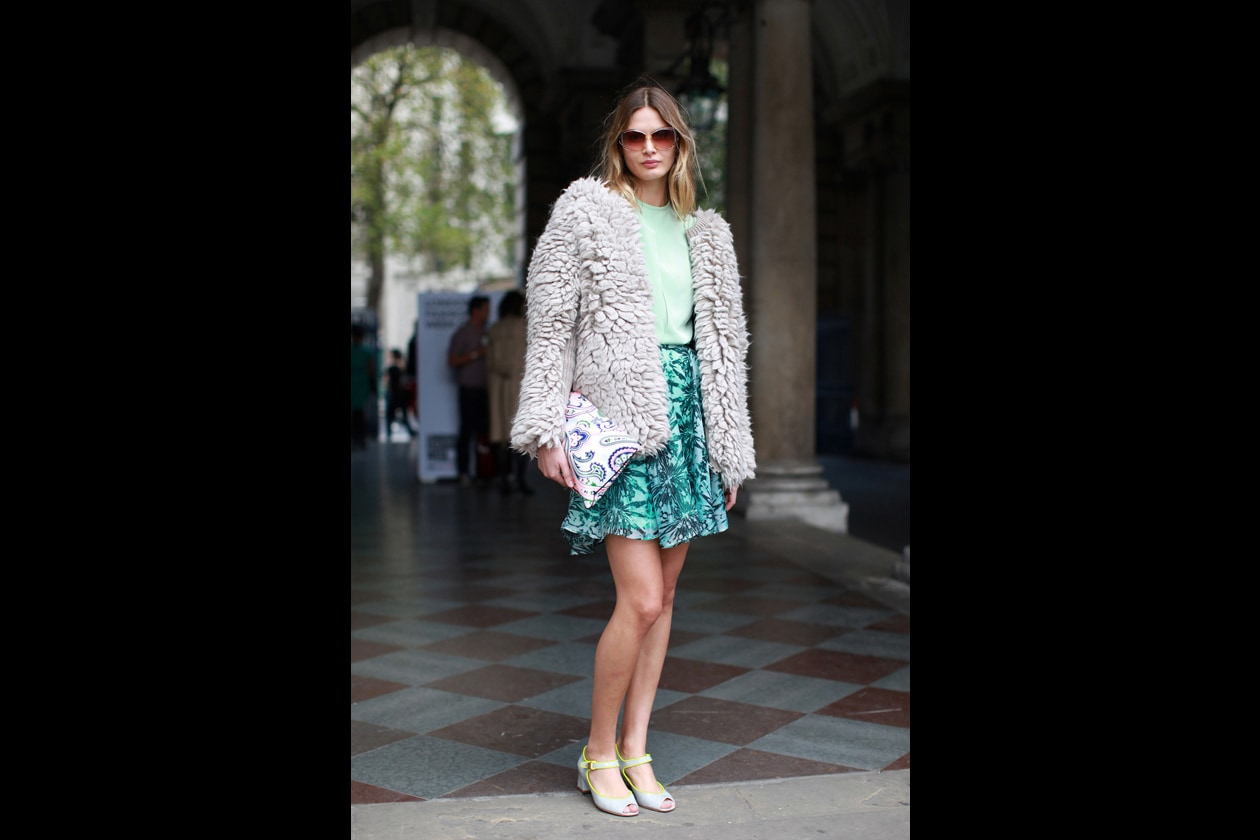 Street-style a Londra: le ragazze più cool alle sfilate