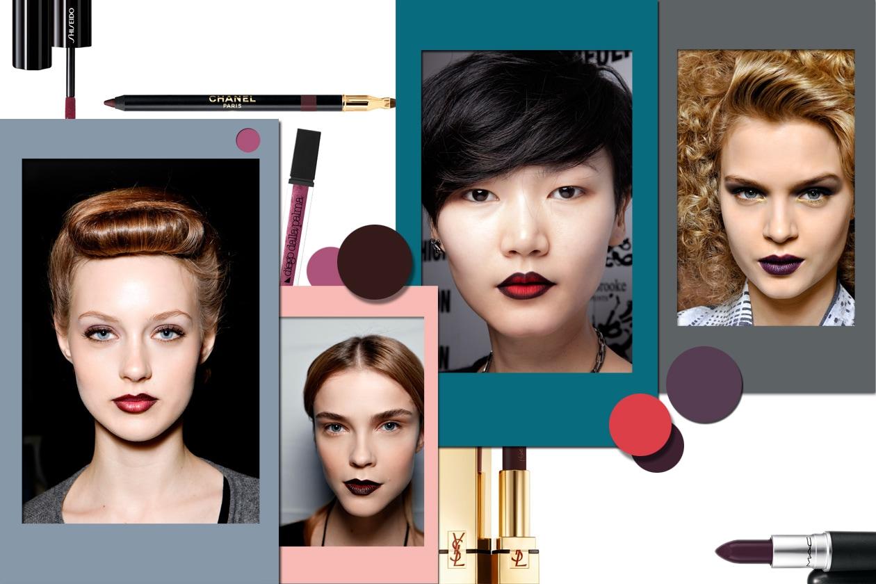 Make up dark: labbra scure e bloody lips per l'Autunno/Inverno 2012